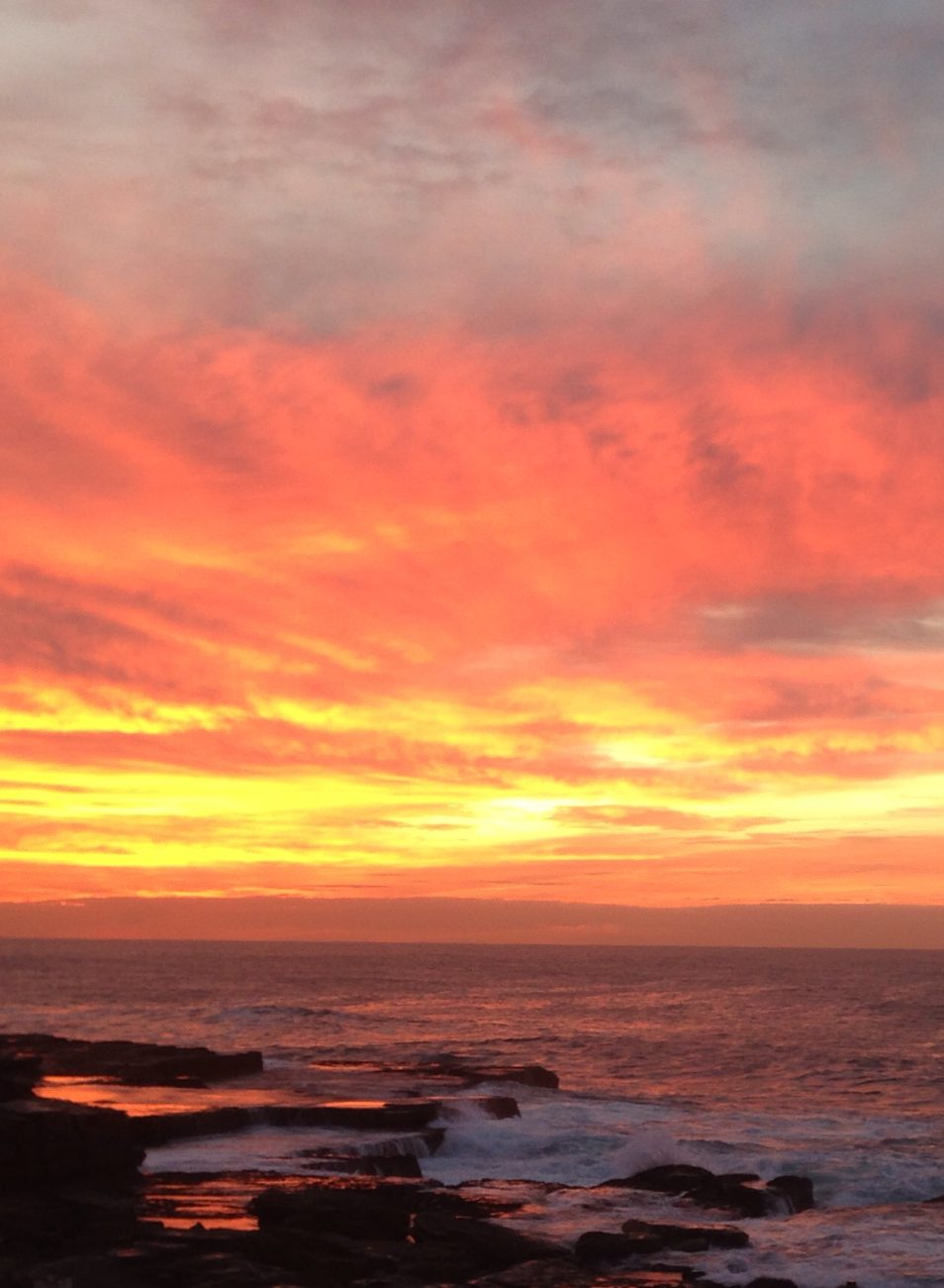 Dawn at Maroubra
